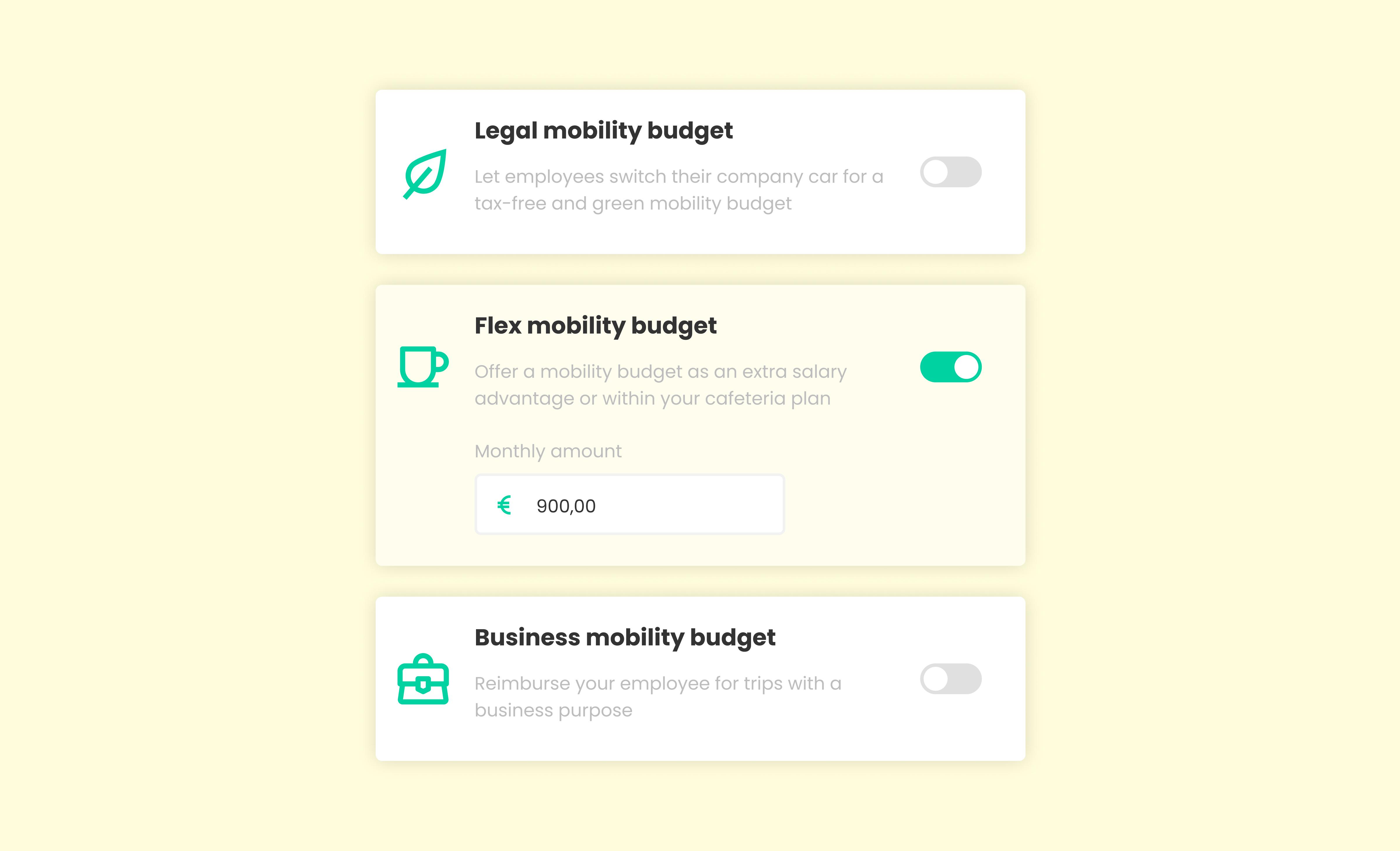 multiple budget types illustration